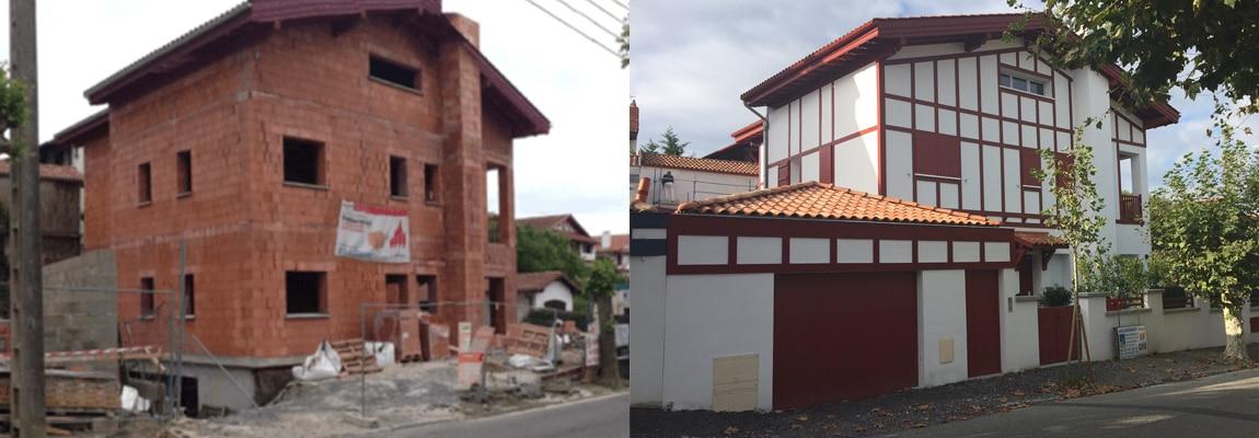 Constructeur de maison ou villa au pays basque for Constructeur de maison 3d
